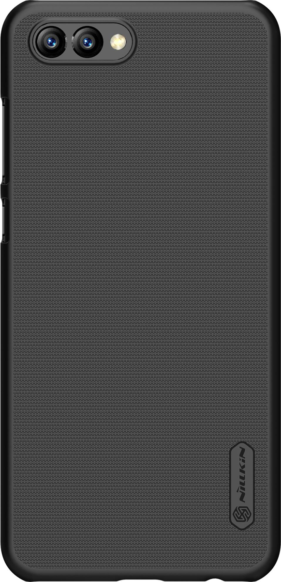 Nillkin Super Frosted Shield чехол для Huawei Honor V10, Black nillkin super frosted shield чехол для samsung galaxy s4 active black