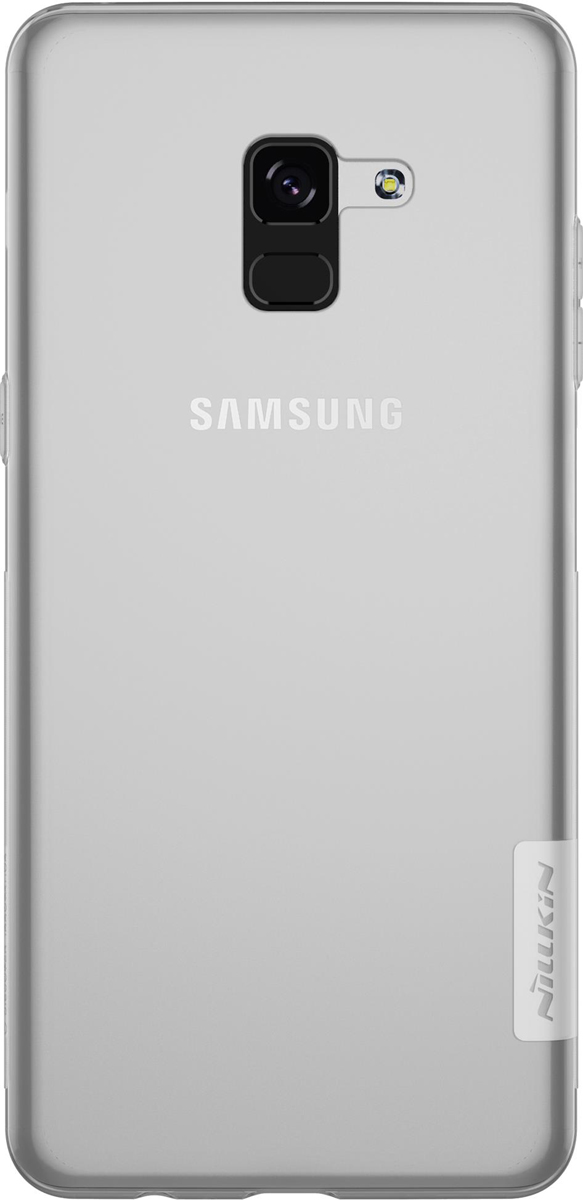 все цены на Nillkin Nature TPU Case чехол для Samsung Galaxy A5 (2018)/A8 (2018), White онлайн