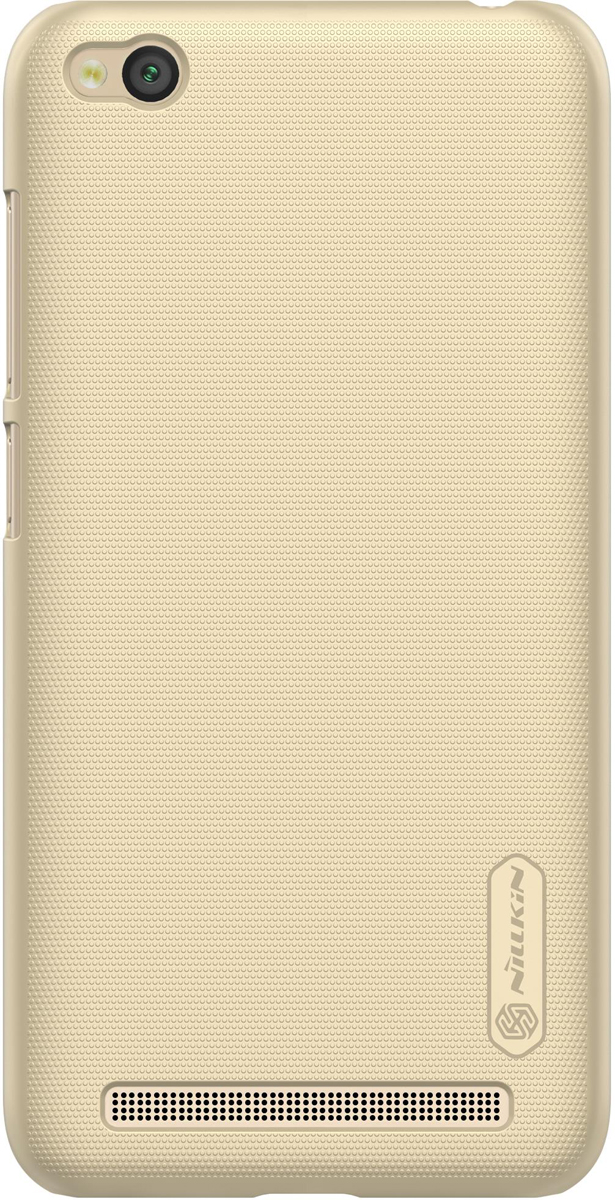 Nillkin Super Frosted Shield чехол для Xiaomi Redmi 5A, Gold чехол для xiaomi redmi 5 nillkin super frosted shield case черный