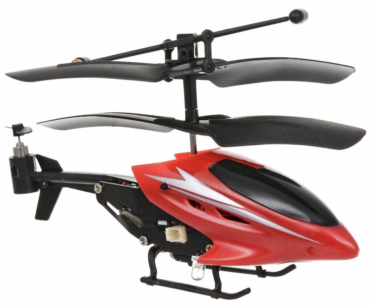 Mioshi Вертолет на радиоуправлении Tech IR-210 цвет красный игрушка mioshi tech waterjet yellow mte1201 034
