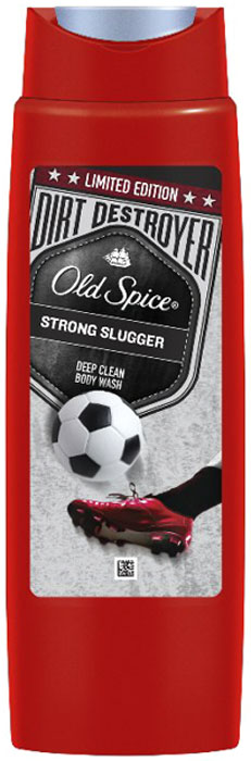 Old Spice Гель для душа Dirt Destroyer Strong Slugger, 250 мл bosca old leather coin purse