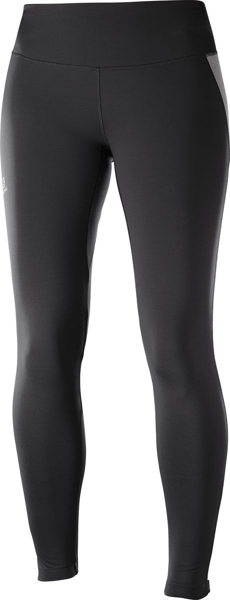 Тайтсы женские Salomon Agile Warm Tight, цвет: черный. L40363400. Размер L (48) тайтсы asics тайтсы base tight gpx
