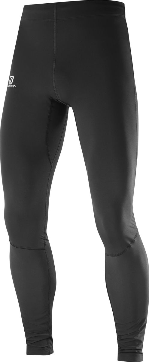 Тайтсы мужские Salomon Agile Warm Tight, цвет: черный. L40360300. Размер XL (52) тайтсы asics тайтсы base tight gpx