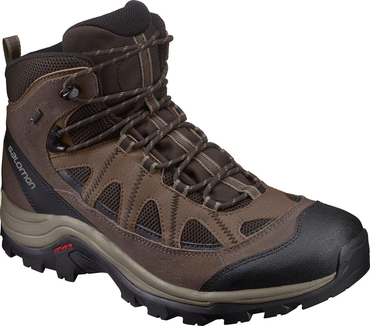Ботинки мужские Salomon Authentic LTR GTX, цвет: коричневый. L39466800. Размер 12 (46)