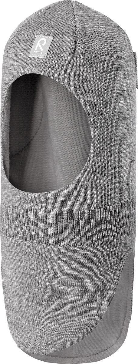 Балаклава детская Reima Starrie, цвет: серый. 5184689400. Размер 52