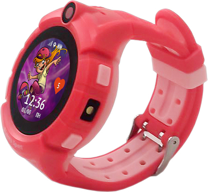 Кнопка жизни Aimoto Sport, Red умные часы