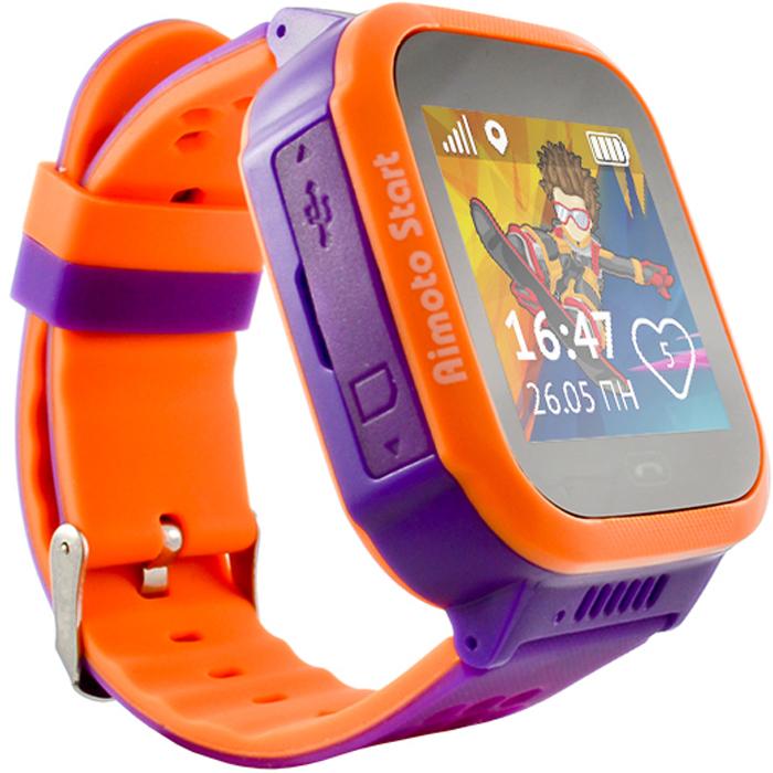 Кнопка жизни Aimoto Sport, Purple умные часы