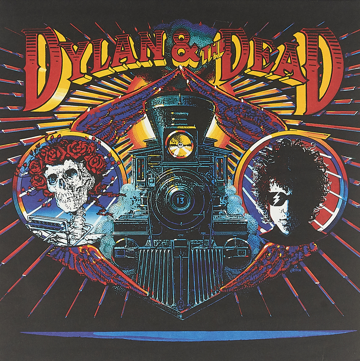 Боб Дилан,The Grateful Dead Bob Dylan & The Grateful Dead. Dylan & The Dead (LP) the dead piano