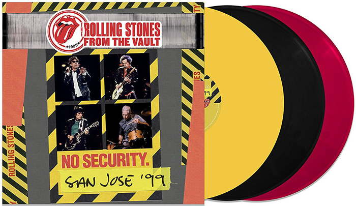 The Rolling Stones The Rolling Stones. From The Vault. No Security - San Jose 1999 (LP) the rolling stones from the vault live in leeds 1982 blu ray