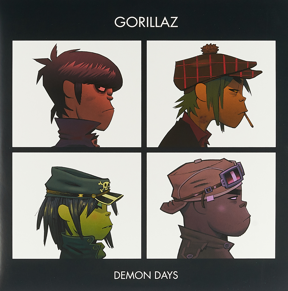 Gorillaz Gorillaz. Demon Days (2 LP) 2 days pass openair st gallen