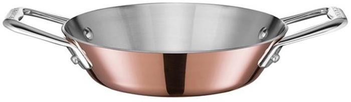 Фото - Сковорода для паэльи Scanpan Maitre D. Диаметр 16 см scanpan сковорода вок с палочками и решеткой 32 см черная 32301200 scanpan