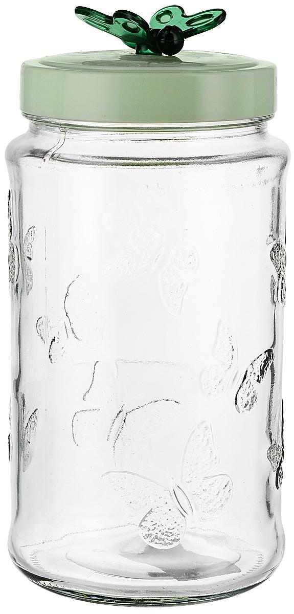 Емкость для продуктов Herevin, цвет: зеленый, 1,7 л серебряные серьги ювелирное изделие 70896