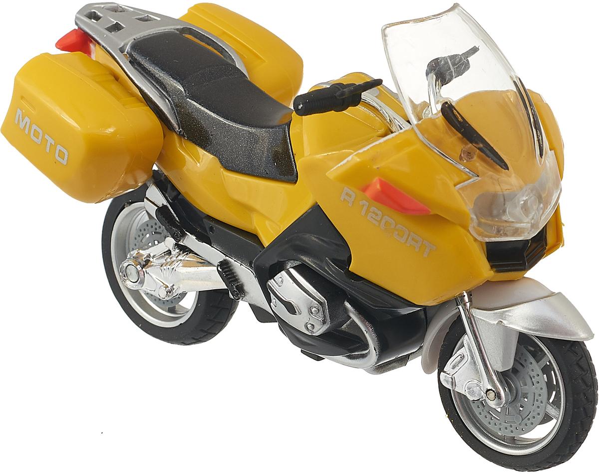 ТехноПарк Мотоцикл Туризм цвет желтый