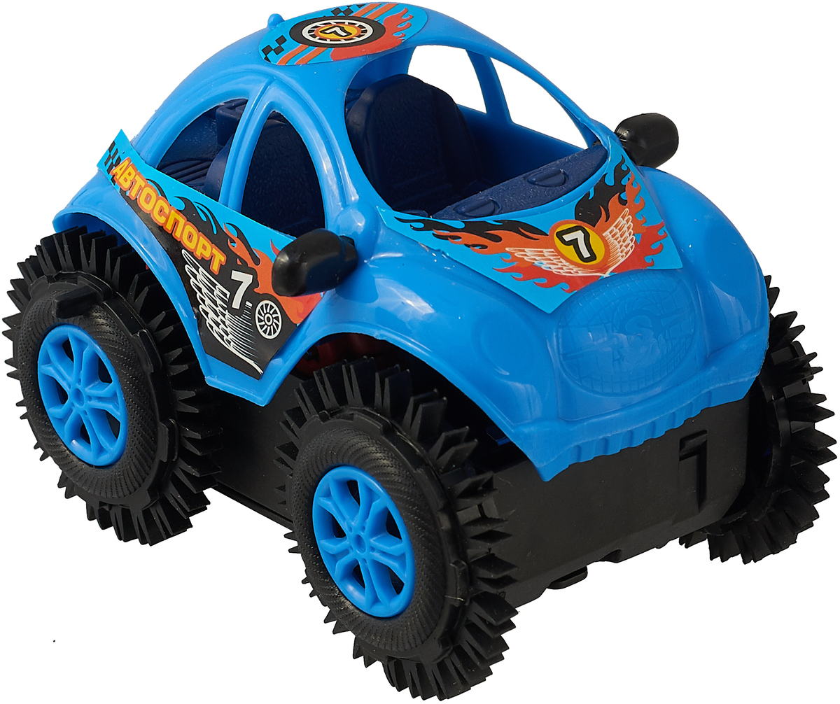 Играем вместе Машина-перевертыш B1058974-R, цвет синий играем вместе лизун паутина цвет голубой