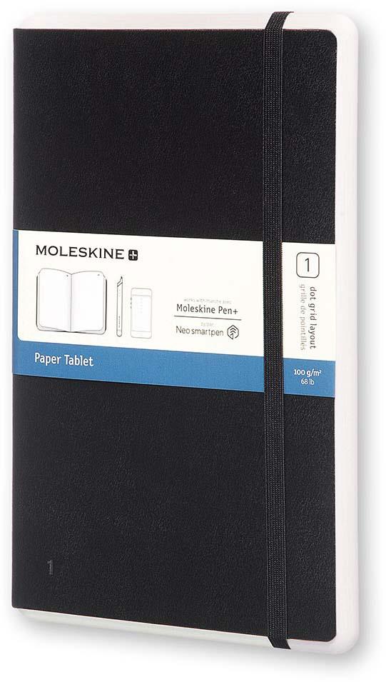 Moleskine Блокнот Paper Tablet Large 176 листов  точку цвет черный