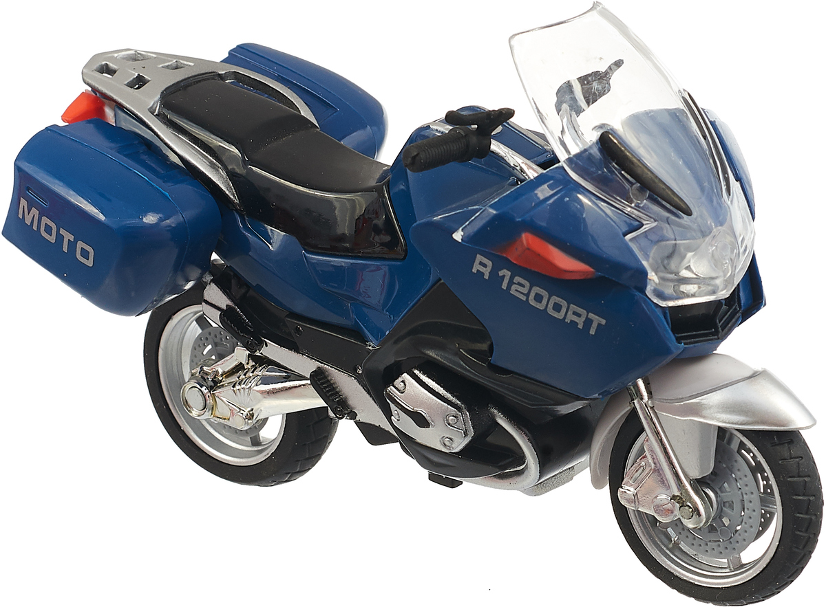 ТехноПарк Мотоцикл Туризм цвет синий туризм