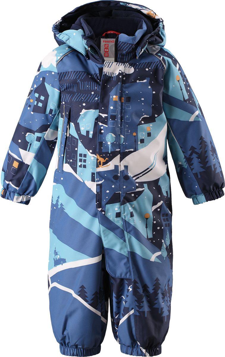 Комбинезон утепленный детский Reima Reimatec Luosto, цвет: синий. 5103016795. Размер 80