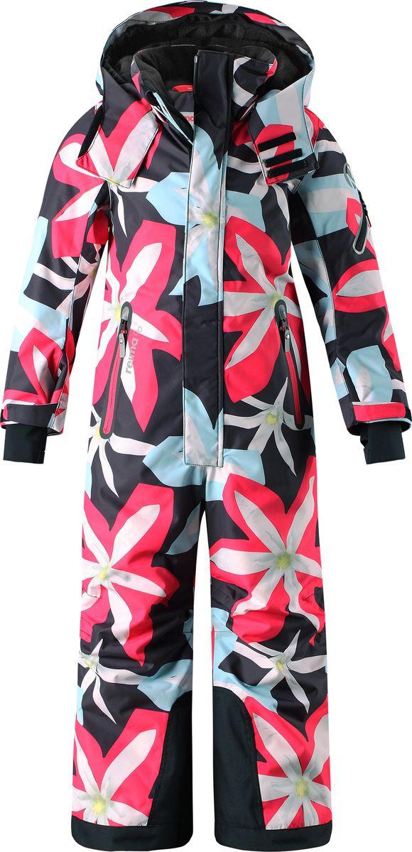 Комбинезон утепленный детский Reima Reimatec Reach, цвет: черный. 520232B9994. Размер 116