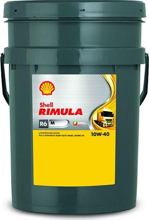 Купить Масло моторное Shell для дизельных двигателей Rimula R6 M 10W-40 (E7, 228.5), 20 л