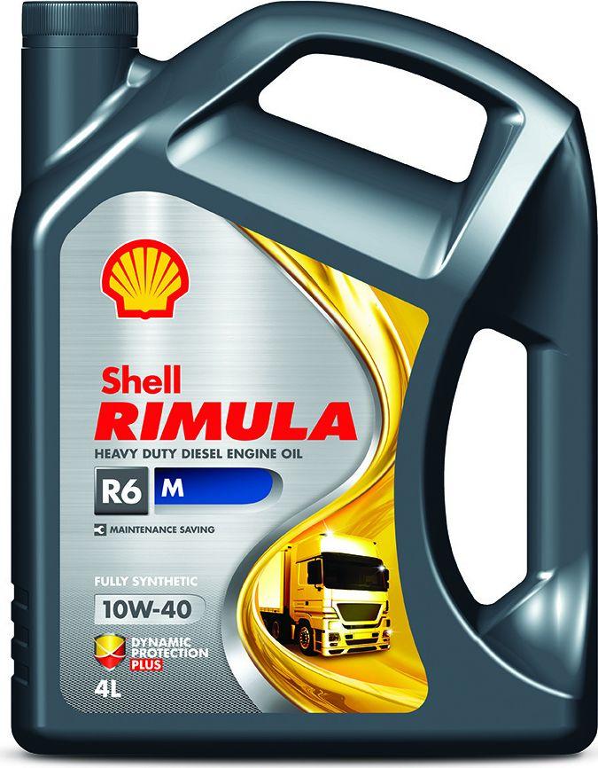Купить Масло моторное Shell для дизельных двигателей Rimula R6 M 10W-40 (E7, 228.5), 4 л