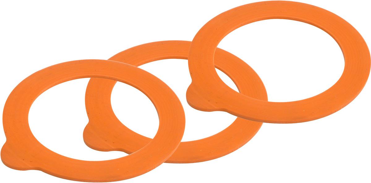 Набор из 6 резиновых прокладок для банок Kilner объемом от 0,35 до 2 л. Они обеспечивают более плотное сцепление крышки с краями крышки и предотвращают попадание воздуха в закрытую банку.