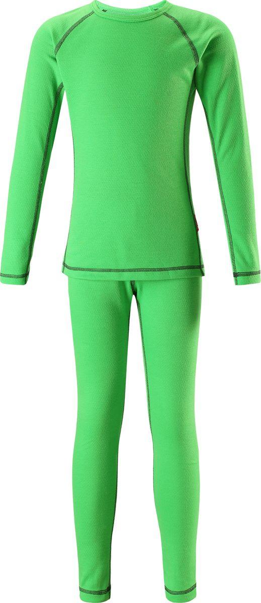 Комплект одежды детский Reima Lani, цвет: зеленый. 5361838400. Размер 130