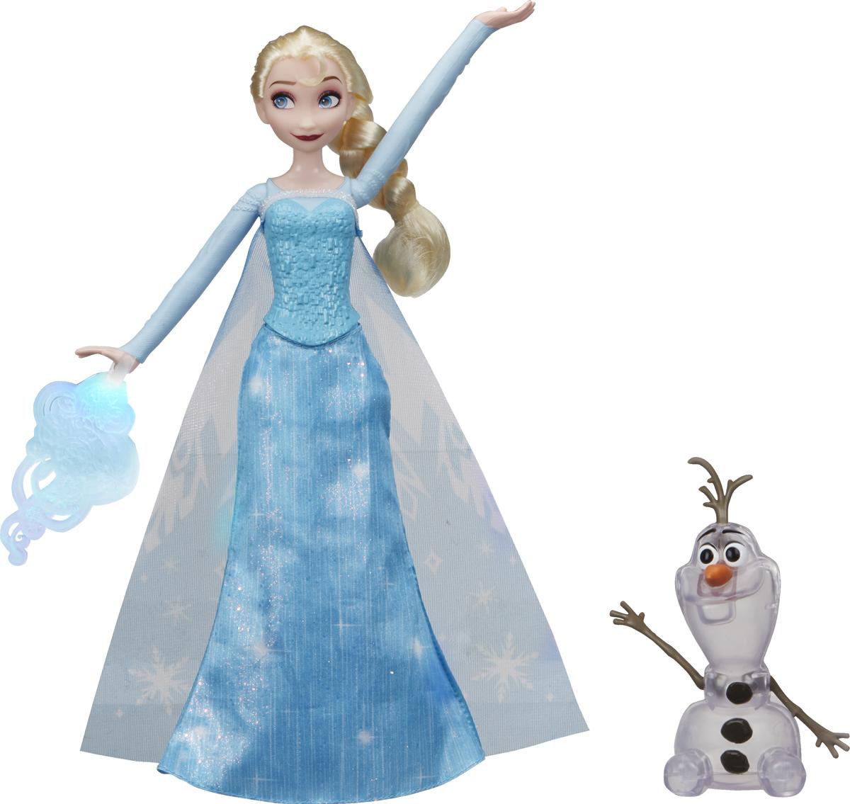 Disney Frozen Игровой набор с куклой Эльза и волшебство disney frozen игровой набор с куклой замок эльзы сделай волшебный снег
