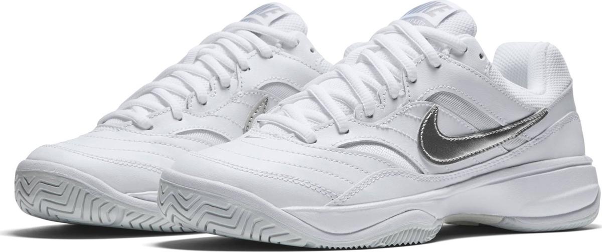 Кроссовки женские Nike Court Lite Tennis, цвет: белый. 845048-100. Размер 9,5 (40) кроссовки для тенниса мужские nike court lite цвет белый 845021 100 размер 10 5 43 5