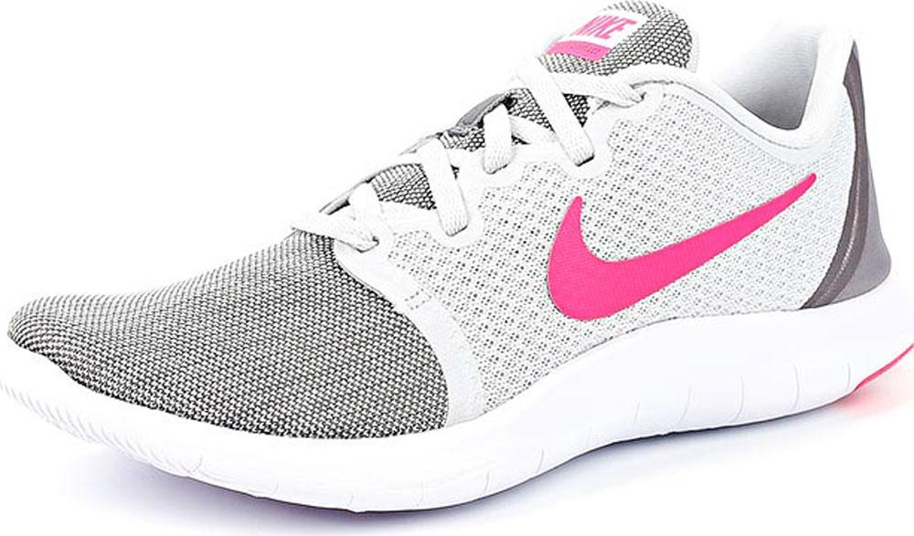 Кроссовки женские Nike Flex Contact 2, цвет: серый. AA7409-009. Размер 9,5 (40) 1794 ow8 plc new original 8 isolated n o relay contact flex digital contact output module