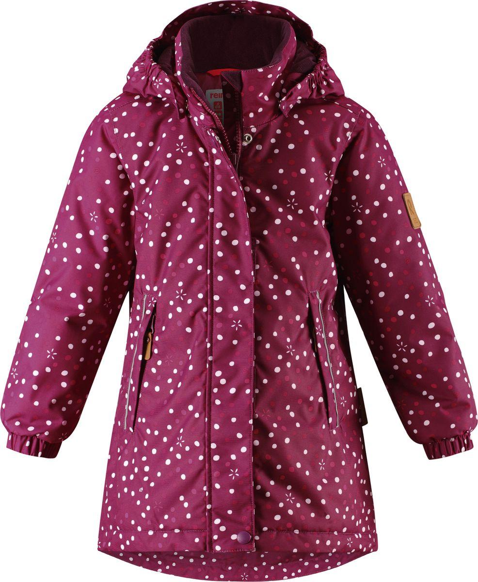 Куртка для девочки Reima Reimatectec Reima Reimatec Femund, цвет: розовый. 5215763698. Размер 98