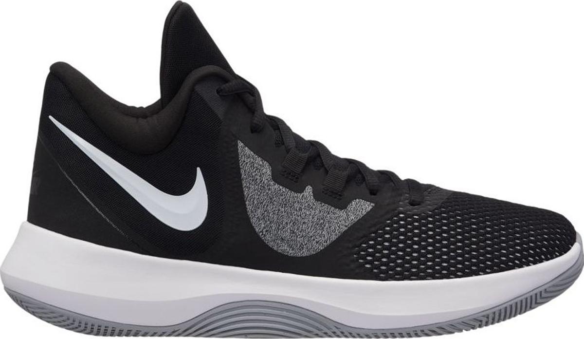 Nike Precision II АКЦЕНТ НА САМОМ ВАЖНОМ. Мужские баскетбольные кроссовки Nike Precision II отличаются своей функциональностью и созданы для непревзойденной игры на любой позиции. Обтекаемая современная конструкция со средним фиксирующим профилем дополнена платформой для мгновенной амортизации и подходит для ношения за пределами площадки. Конструкция со средним профилем обеспечивает идеальное сочетание фиксации и маневренности. Специальная система фиксации в средней части удерживает стопу. Сетка в передней части стопы для повышенной вентиляции. Улучшенный зигзагообразный рисунок протектора обеспечивает прочность и сцепление на разных типах поверхности.