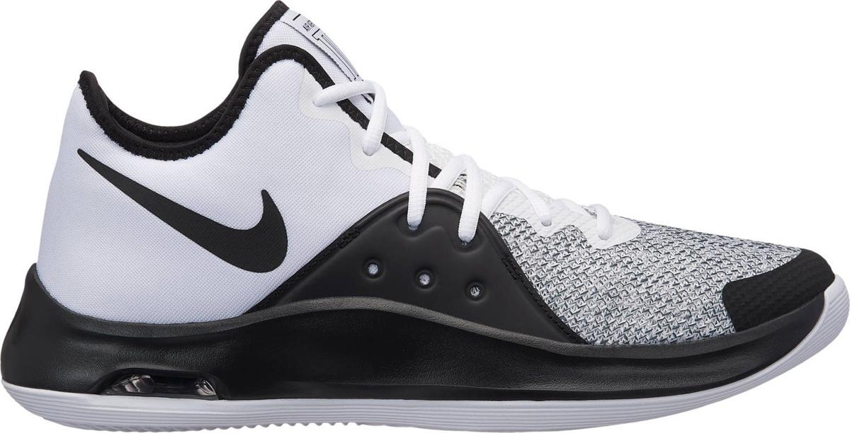 Кроссовки мужские Nike Air Versitile III, цвет: белый, черный, серый. AO4430-100. Размер 10 (43)