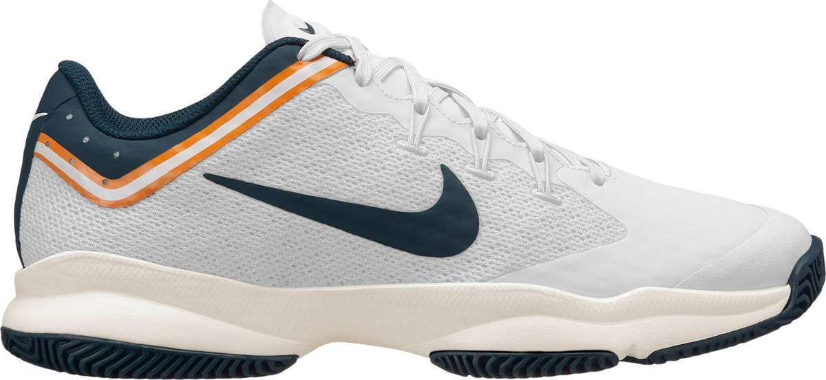 Кроссовки мужские Nike Air Zoom Ultra Tennis, цвет: белый, синий. 845007-180. Размер 12 (45)
