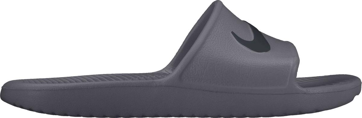 Шлепанцы мужские Nike Kawa Shower Slide, цвет: серый. 832528-010. Размер 14 (47,5) шлепанцы souls шлепанцы