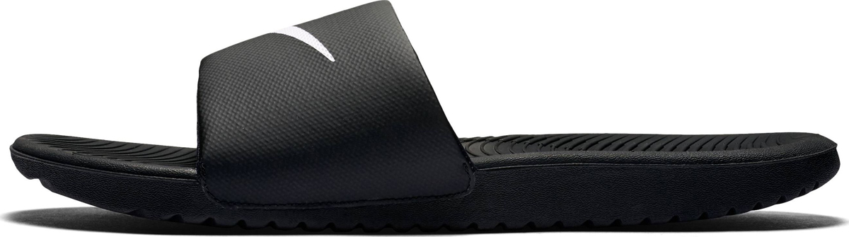 Шлепанцы мужские Nike Kawa Slide Sandal, цвет: черный. 832646-010. Размер 7 (39)
