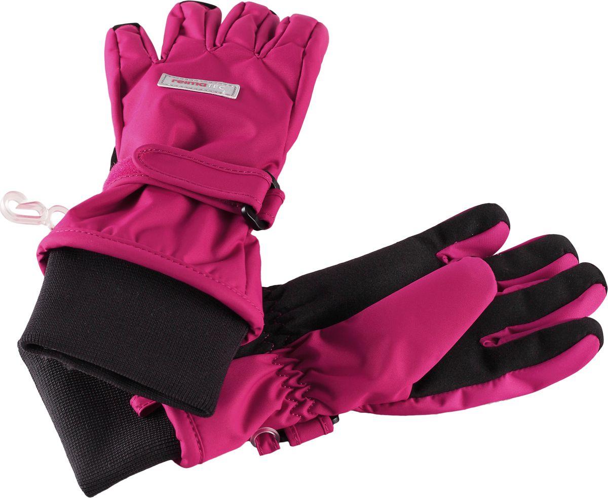 Перчатки детские Reima Reimatec Pivo, цвет: розовый. 5272873600. Размер 5
