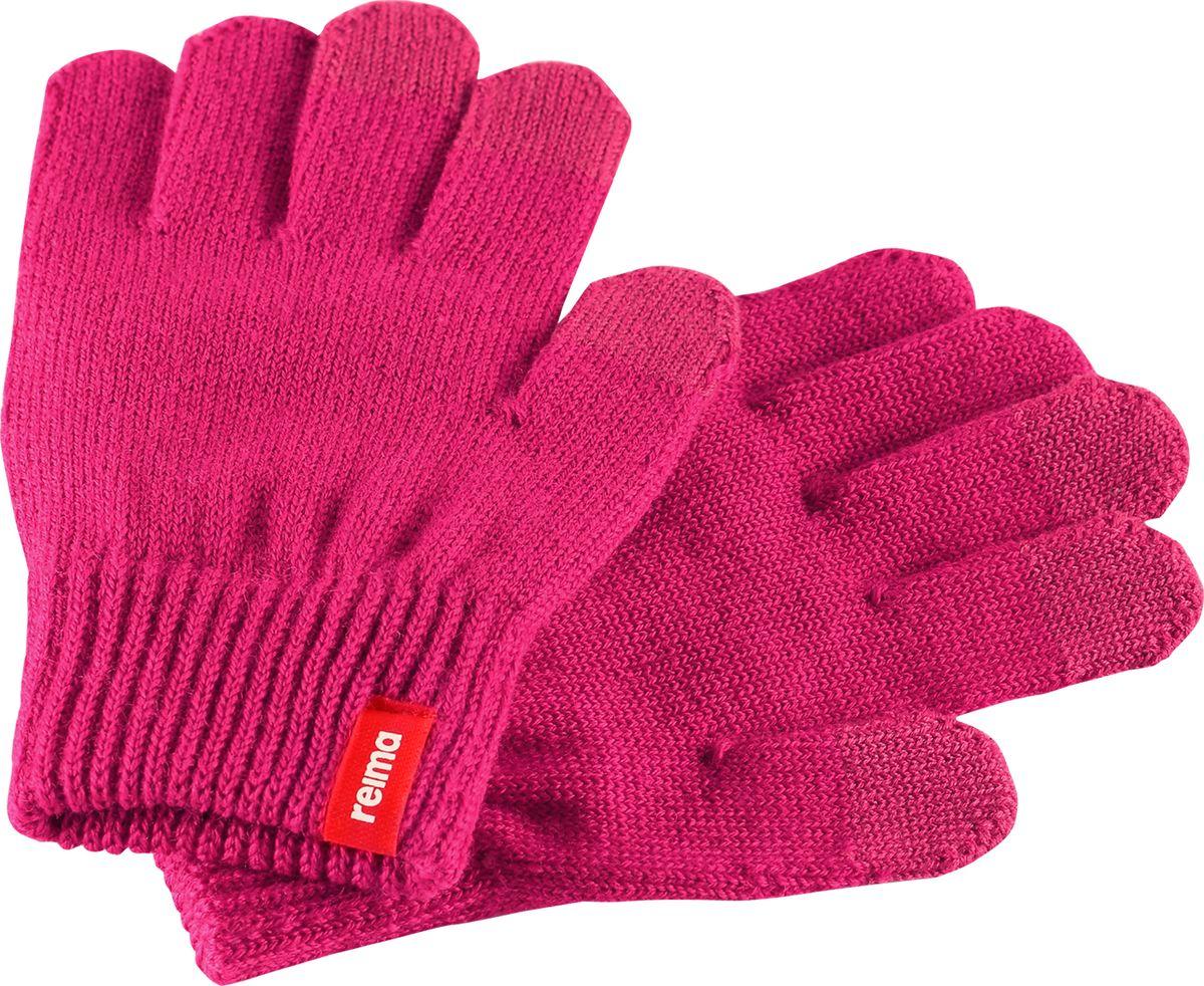 Перчатки детские Reima Rimo, цвет: розовый. 5273063600. Размер 1