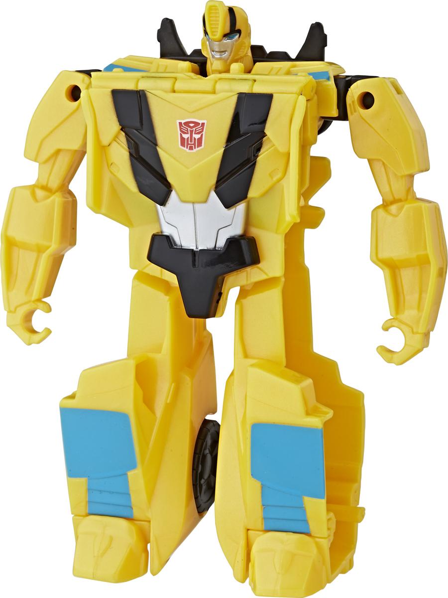 Transformers Игрушка-трансформер Кибервселенная One Step transformers трансформер autobot twinferno