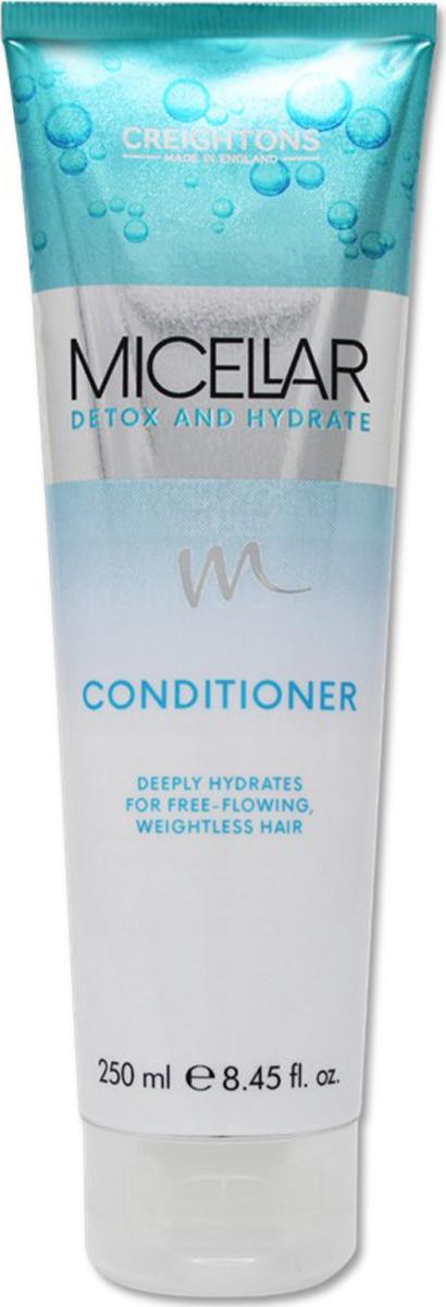 Creightons Кондиционер для волос Детокс и Увлажнение, 250 мл creightons укрепляющий и увлажняющий кондиционер для волос с кератином 250 мл