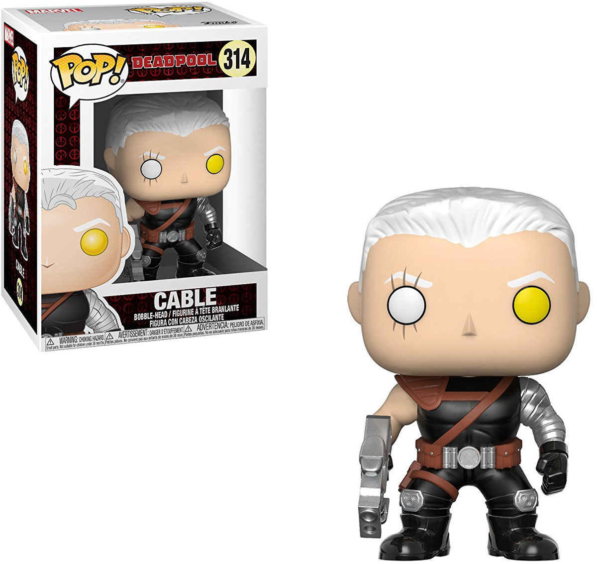 Funko POP! Bobble Фигурка Marvel: Deadpool Parody Cable 30862 фигурка funko pop bobble marvel black panther