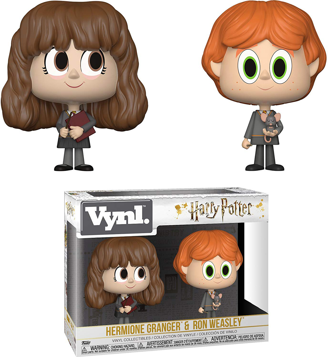 Funko POP! Vinyl Фигурка Games: Harry Potter 2PK Ron & Hermione 30001 фигурка funko pop harry potter – hermione granger with time turner 9 5 см