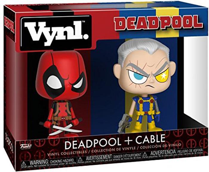 Funko POP! Vinyl Фигурка Marvel: Comics Deadpool & Cable 30489 фигурка funko pop bobble marvel black panther nakia