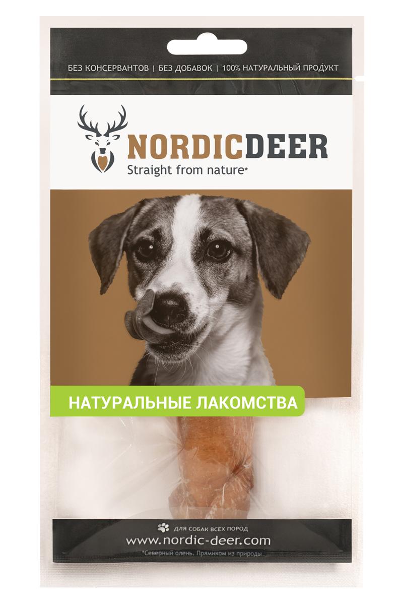 Лакомство для собак Nordic Deer Бычий корень. Монстр, 15 см, 1 шт