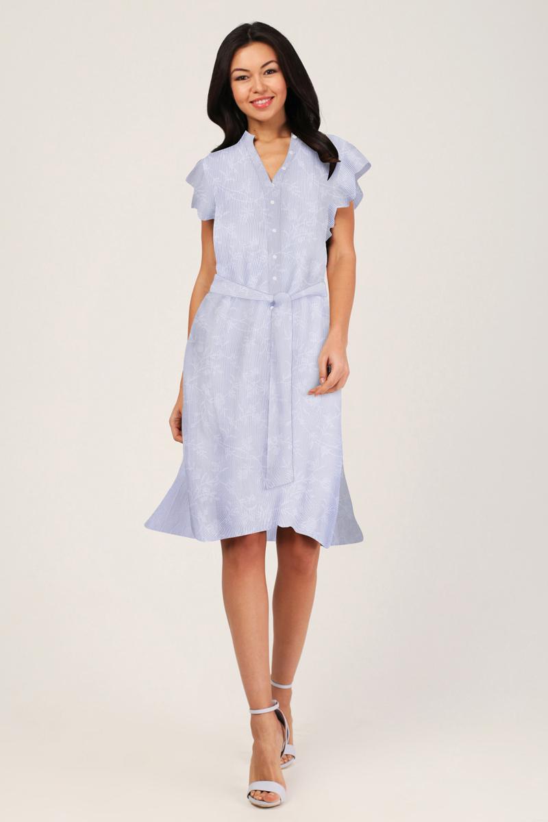 Платье Tom Farr, цвет: голубой. TW7568.33803-2-coll. Размер M (46)