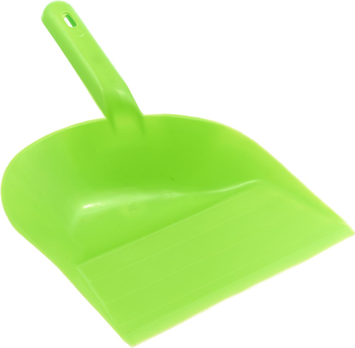Совок для мусора Калита, цвет: салатовый