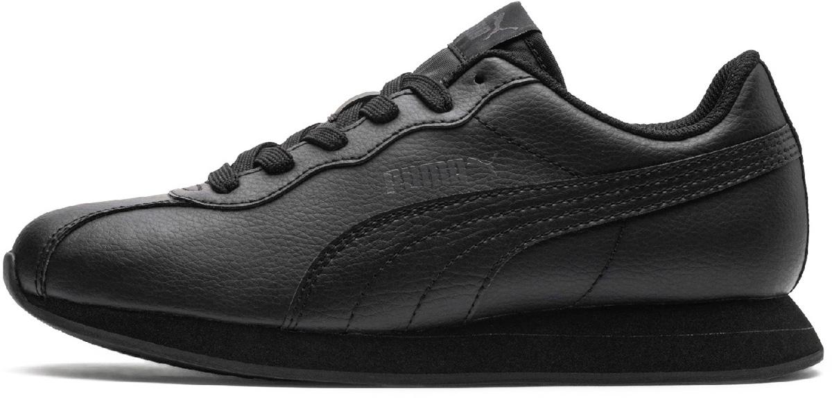 Кроссовки детские Puma Turin II Jr, цвет: черный. 36677304. Размер  (38)