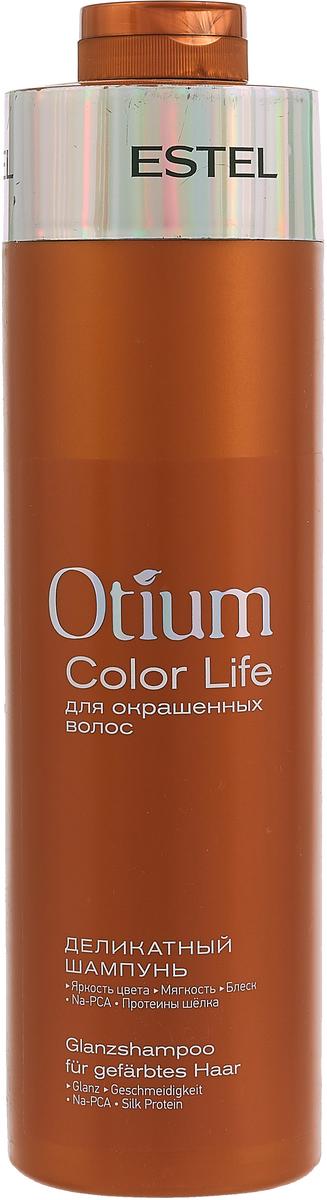 Estel Крем-шампунь для окрашенных волос Otium Blossom, деликатный, 1000 мл