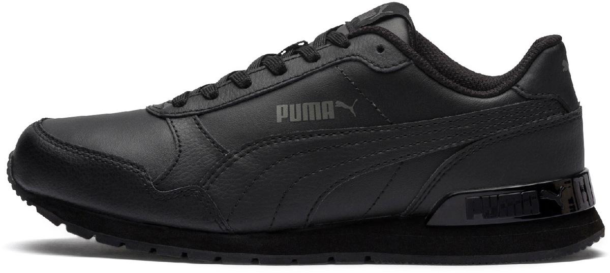 Кроссовки детские Puma ST Runner v2 L Jr, цвет: черный. 36695901. Размер  (38)