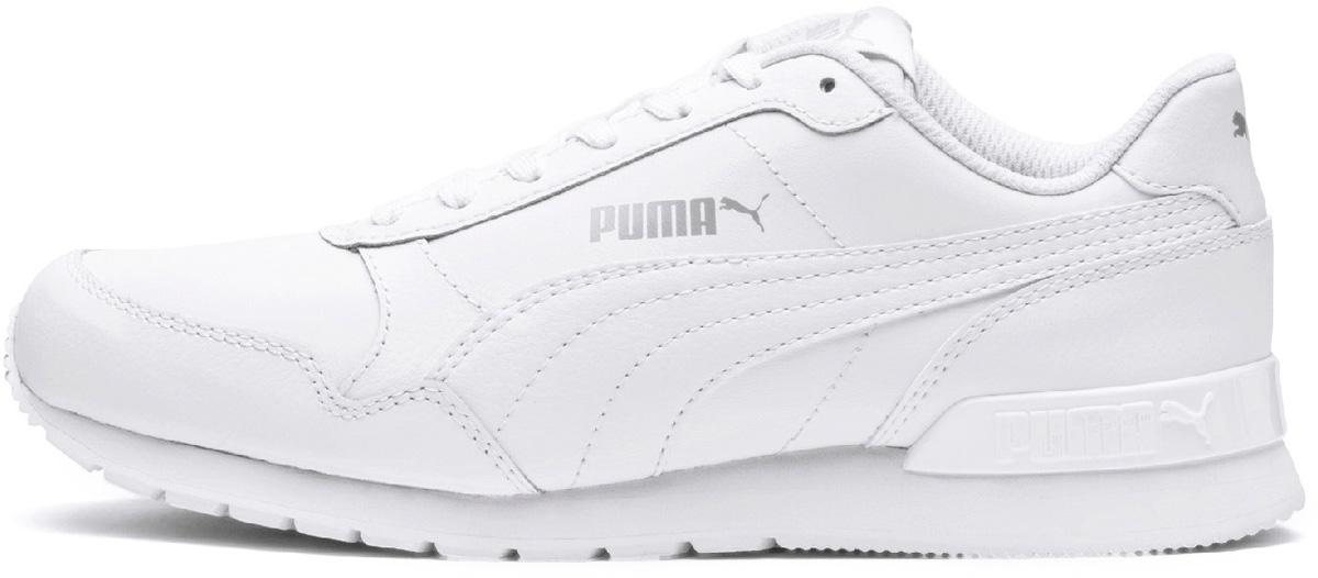 Кроссовки детские Puma ST Runner v2 L Jr, цвет: белый. 36695902. Размер , (37,)
