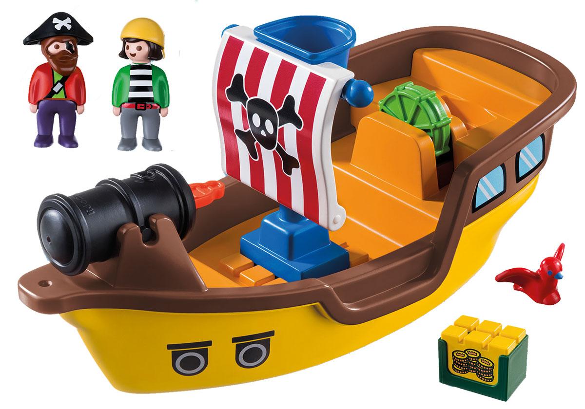 Playmobil Игровой набор Пиратский корабль playmobil® пиратский тайник с сокровищами playmobil